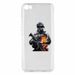 Чехол для Xiaomi Mi5/Mi5 Pro Battlefield Warrior