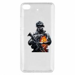 Чехол для Xiaomi Mi 5s Battlefield Warrior