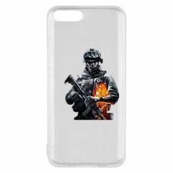 Чехол для Xiaomi Mi6 Battlefield Warrior