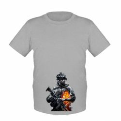 Детская футболка Battlefield Warrior - FatLine