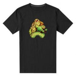 Мужская стрейчевая футболка Battletoads art