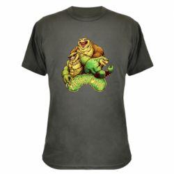 Камуфляжная футболка Battletoads art