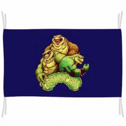 Флаг Battletoads art
