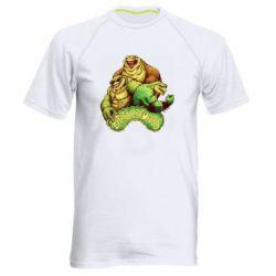Мужская спортивная футболка Battletoads art