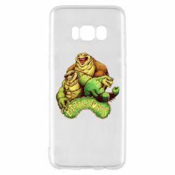 Чехол для Samsung S8 Battletoads art