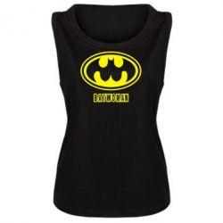 Женская майка Batwoman - FatLine