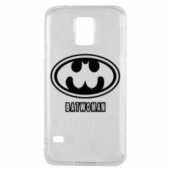 Чохол для Samsung S5 Batwoman
