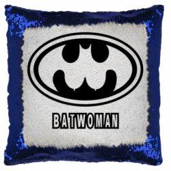 Подушка-хамелеон Batwoman