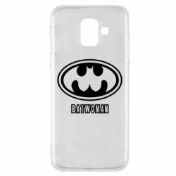 Чохол для Samsung A6 2018 Batwoman