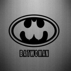 Наклейка Batwoman