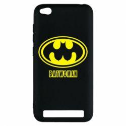 Чохол для Xiaomi Redmi 5a Batwoman