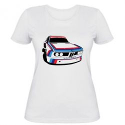 Женская футболка Bavarian Motor Works - FatLine