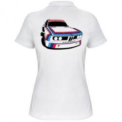 Женская футболка поло Bavarian Motor Works - FatLine