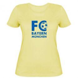Женская футболка Бавария Мюнхен