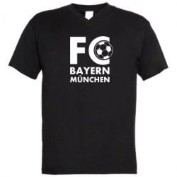 Чоловіча футболка з V-подібним вирізом Баварія Мюнхен