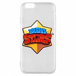 Чехол для iPhone 6/6S Brawl Stars