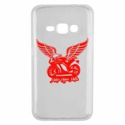 Чехол для Samsung J1 2016 Байк с крыльями
