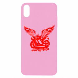 Чохол для iPhone Xs Max Байк з крилами