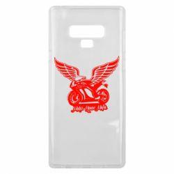 Чехол для Samsung Note 9 Байк с крыльями