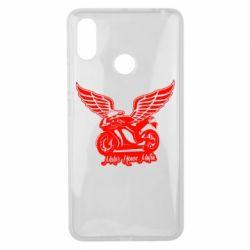 Чехол для Xiaomi Mi Max 3 Байк с крыльями