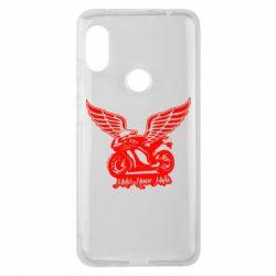 Чехол для Xiaomi Redmi Note 6 Pro Байк с крыльями
