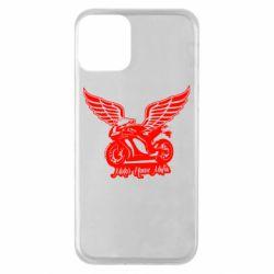 Чехол для iPhone 11 Байк с крыльями