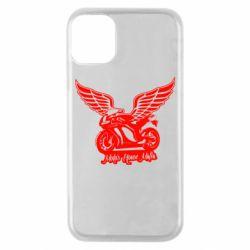 Чехол для iPhone 11 Pro Байк с крыльями
