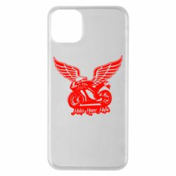 Чехол для iPhone 11 Pro Max Байк с крыльями