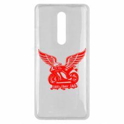 Чехол для Xiaomi Mi9T Байк с крыльями