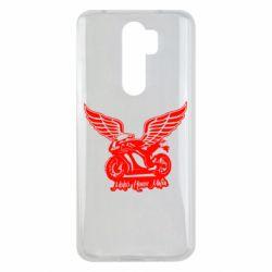 Чехол для Xiaomi Redmi Note 8 Pro Байк с крыльями