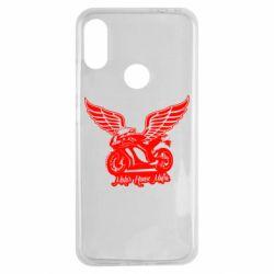 Чехол для Xiaomi Redmi Note 7 Байк с крыльями