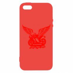 Чохол для iphone 5/5S/SE Байк з крилами
