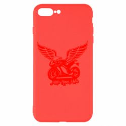 Чехол для iPhone 7 Plus Байк с крыльями