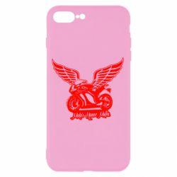 Чехол для iPhone 8 Plus Байк с крыльями
