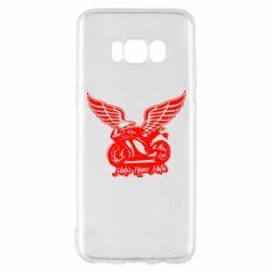 Чехол для Samsung S8 Байк с крыльями