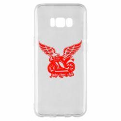 Чехол для Samsung S8+ Байк с крыльями