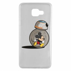 Чохол для Samsung A7 2016 BB-8 and Mickey Mouse