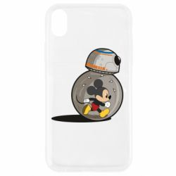 Чохол для iPhone XR BB-8 and Mickey Mouse