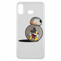 Чохол для Samsung A6s BB-8 and Mickey Mouse