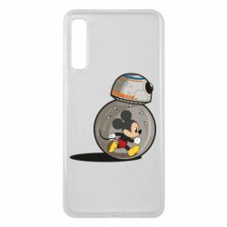 Чохол для Samsung A7 2018 BB-8 and Mickey Mouse