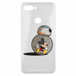 Чехол для Xiaomi Mi8 Lite BB-8 and Mickey Mouse