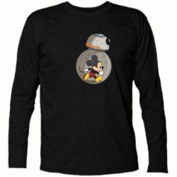 Футболка с длинным рукавом BB-8 and Mickey Mouse