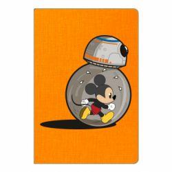 Блокнот А5 BB-8 and Mickey Mouse