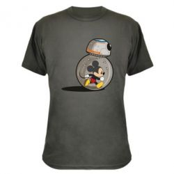 Камуфляжная футболка BB-8 and Mickey Mouse