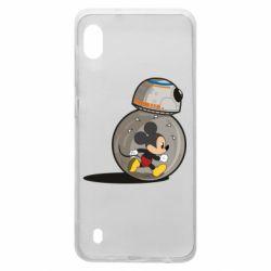 Чохол для Samsung A10 BB-8 and Mickey Mouse