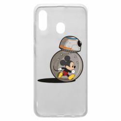 Чохол для Samsung A20 BB-8 and Mickey Mouse