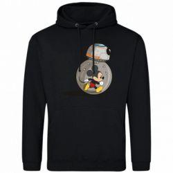 Мужская толстовка BB-8 and Mickey Mouse