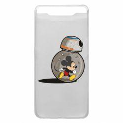 Чохол для Samsung A80 BB-8 and Mickey Mouse