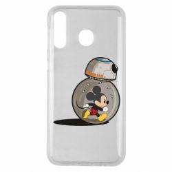 Чехол для Samsung M30 BB-8 and Mickey Mouse