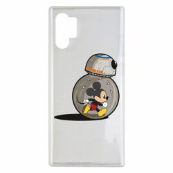 Чохол для Samsung Note 10 Plus BB-8 and Mickey Mouse